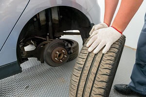 Towson Tire Change